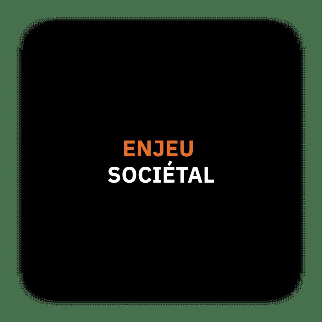 enjeu sociétal
