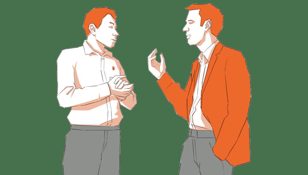 personnage proximité et réactivité