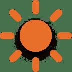 pictogramme apport de lumière